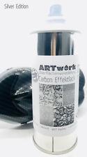 Effektlack Carbon Silver Edition 400ml Spraydose auch für Wassertransferdruck