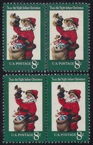 "1472 Huge Color Shift Error / EFO Pair ""Santa Claus"" Mint NH"
