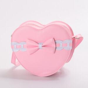 Sweet Lolita Gothic Punk Japanese Heart Bowknot Messenger Bag Shoulder Bag