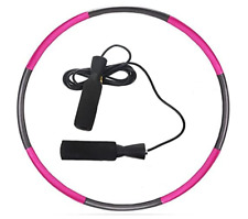 New listing Weighted Hoola Hoop for Exercise, With Jumping Rope, For Adults Weight Loss