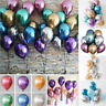 "50Pcs/lot 10"" Metallic Balloons Chrome Bouquet Wedding Birthday Party Supplies"