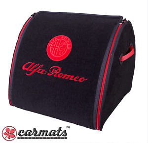 🇮🇹 ALFA ROMEO Design,🏅Car Trunk Organizer (XL) 🏁 Boot Cargo Storage Bag ✅