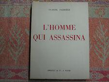 Farrère : L'homme qui assassina, lithographies en couleurs de Charles Fouqueray