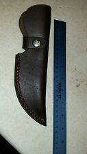 leather bushcraft knife sheath bowie