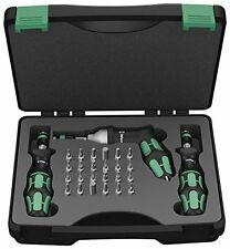 Wera 05074739001 0.3 - 6 Nm Adjustable Torque Screwdriver Set, 27 Piece