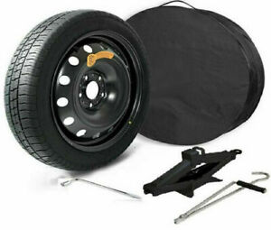 """Space Saver Spare Wheel 17"""" for MERCEDES E-CLASS with jack wrench and cover"""
