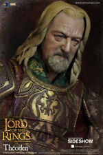 LOTR~KING THEODEN OF ROHAN~SIXTH SCALE FIGURE~ASMUS TOYS~SIDESHOW~MIB