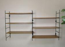 étagère Tomado vintage bois clair et métal