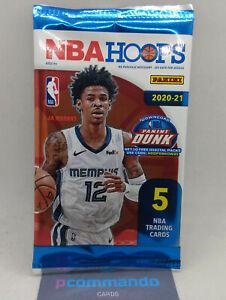 2020-21 Panini NBA Hoops Basketball Card SEALED Gravity Pack 2021 Yellow Lamelo?