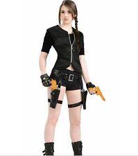 Lara Croft Tomb Raider Treasure Huntress Thigh Holsters with Guns