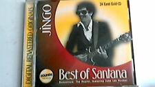24 Karat Gold CD  Santana  -- Jingo ...BEST OF SANTANA -- ZOUNDS