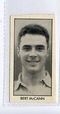 (Jd2699-100)  THOMSON,FOOTBALL STARS OF 1959,BRET McCANN,1959,#31