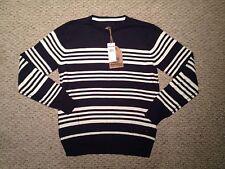 "Quiksilver ""Bradford"" Sweater-  Size Medium- Blue/white- NWT"