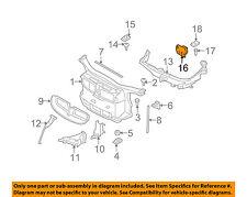 BMW OEM 07-12 328i Radiator Core Support-Bracket Right 51647136828