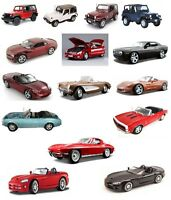 Maisto 1:18 Special Edition Die Cast Cars Large Selection - All New In Pack