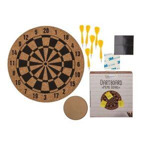 Cork Dartboard Design Memo Bulletin Message Daily Weekly Planning Notice Board