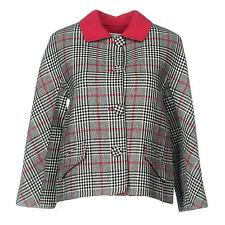 NWT Oscar de la Renta Resort 2014 Prince of Wales-check Blazer/Jacket, size 2