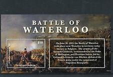 Antigua & Barbuda 2015 MNH Battle of Waterloo 1815 1v S/S Napoleon Wellington