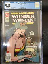 Wonder Woman #73 CGC 9.8 NM/MT Brain Bolland Cover 1987 Series L@@K!