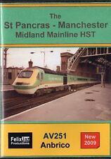 The St Pancras - Manchester Midland Mainline HST