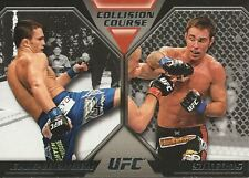 Jake Ellenberger Jake Shields 2011 Topps UFC Moment Of Truth Collision Course