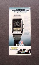 [GCG] M467 - Advertising Pubblicità - 1979 - TISSOT , F.1 WITH TEAM LOTUS