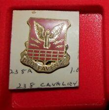 Crest,Di, 238Th Cavalry Regiment, Clutch Back, Meyer Hm