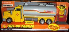 Large Matchbox Shell Fuel-Up Tanker -Lights, Horn, Gas Pump - #88182 New in Box