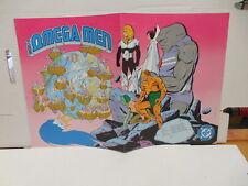 Omega Men DC Comic Book Promo Poster Keith Giffen Decarlo Wolfman