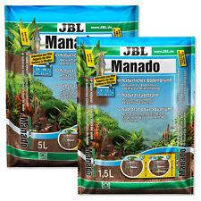 JBL Manado Natural Substrate Plant Growth Granule Root Soil Aquarium Fish Tank