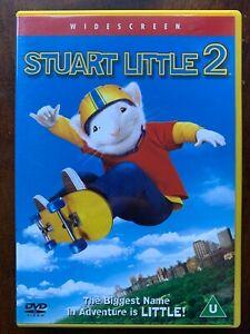 Stuart Little 2 DVD 2002 Family Mouse Adoption Film Movie Classic