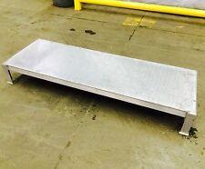 "Lot Of 2 Aluminum Work Stands / Platforms 60.5""L x 20.5""W x 8""H"