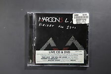 Maroon 5 ‎– Live - Friday The 13th  [VGC - CD]  (REF TS)