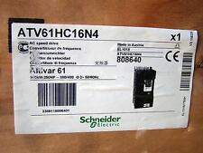 Schneider Electric AC Speed Drive ATV61HC16N4 160kW 250HP 380/480V 3 Phase New