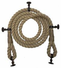 Synthétique Chanvre Bannister Corde,10.2cm Doux Yeux ,5 Supports de Choix,Déco