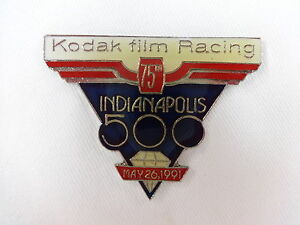 1991 Indianapolis 500 Sponsors Kodak Film Racing Collector Sponsors Pin Eastman