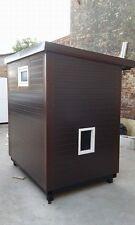 Stall Hühnerstall Taubenschlag 1,50x2,00 Meter winterfester Stall für Haustiere