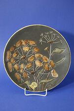 Ruscha Art Wandteller Keramik Teller 28,5 cm / 50-er Jahre / Rarität / Dolden
