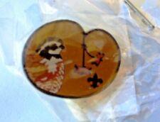 Woodbadge Bobwhite Patrol Totem with beads Hat/Lapel Pin BSA Wood Badge