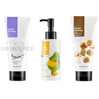 THE FACE SHOP Smart Peeling (Mild Papaya/Honey Black Sugar Scrub/White Jewel)