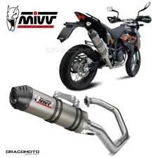KTM 690 SM Impianto completo MIVV Oval 2007-2012 Titanio Cc - RC