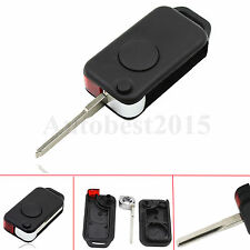 1 Button Keyless Entry Remote Flip Key Shell Case Fob For Benz Mercedes W168 C36