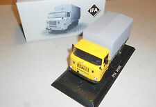 IFA W 50 L with Flatbed 1:43 GDR commercial vehicle Atlas MINT FROM COLLECTION
