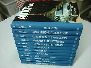 (AA.VV) Auto & auto 1990 Fabbri 12 volumi prima edizione
