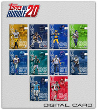 19-20 TOP 100 MINI BOX BASE COMPLETE SET OF 10 CARDS Topps Huddle Digital Card