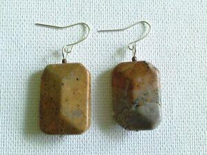 Landscape Jasper earrings