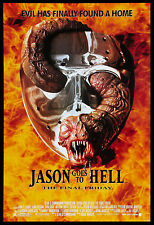 Horror: Friday the 13th  Final Chapter Jason Goes to Hell Movie Poster 2002