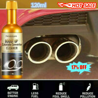 120ml Boost Up Vehicle Engine Catalytic Converter Cleaner Cleaning Multipurpose
