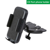 Car Phone Mount CD Slot Phone Holde For iPhone Xs XR XS X8 8Plus Galaxy S10