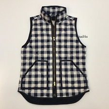 Nwt J Crew Excursion Quilted Puffer Down Vest In